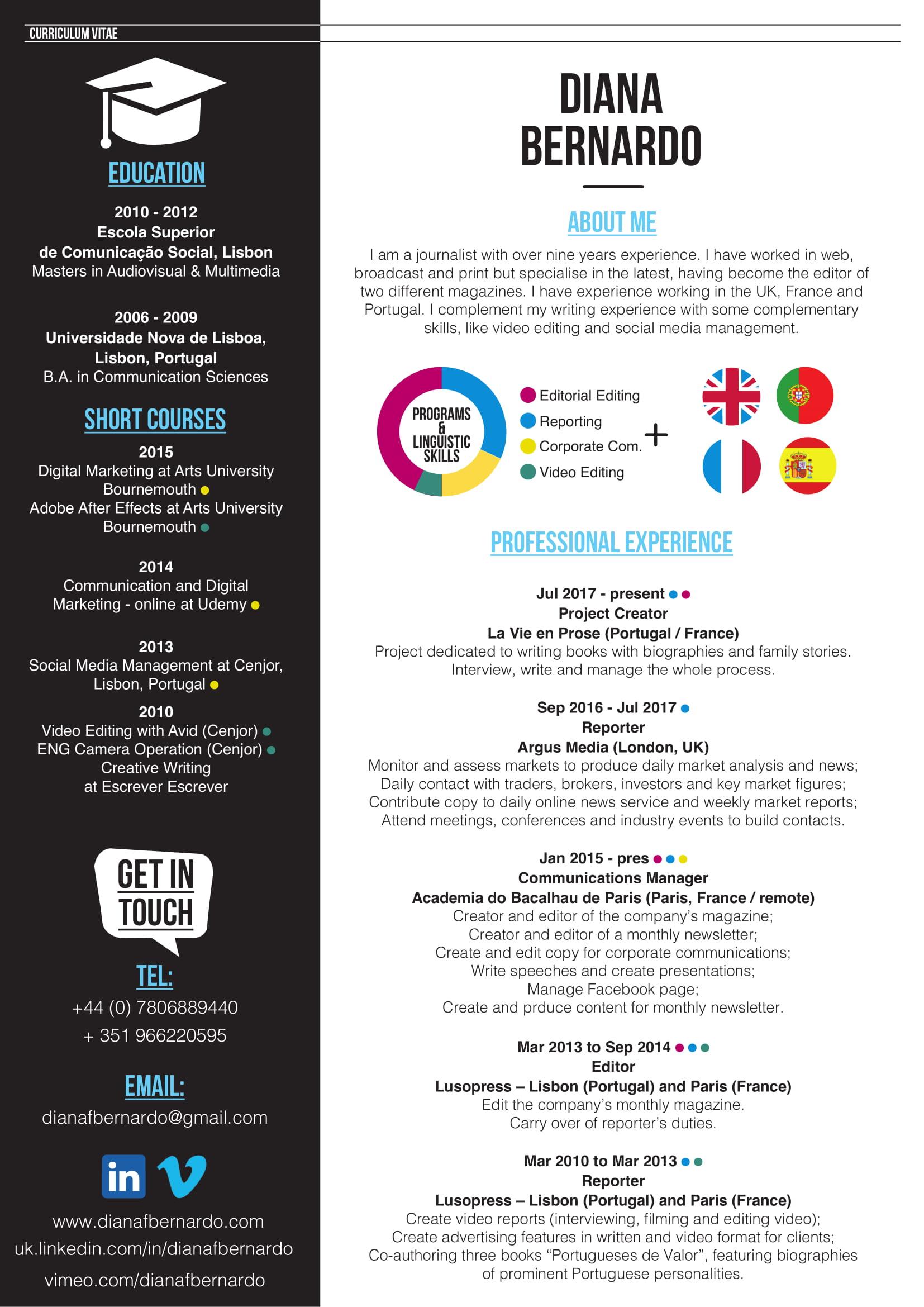 Atractivo Muestra De Marketing Currículum 2014 Motivo - Ejemplo De ...